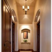 美式客厅吊灯效果图