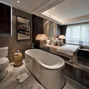 中式别墅浴室装修设计