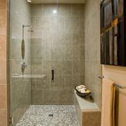 棕色系卫生间装修效果图