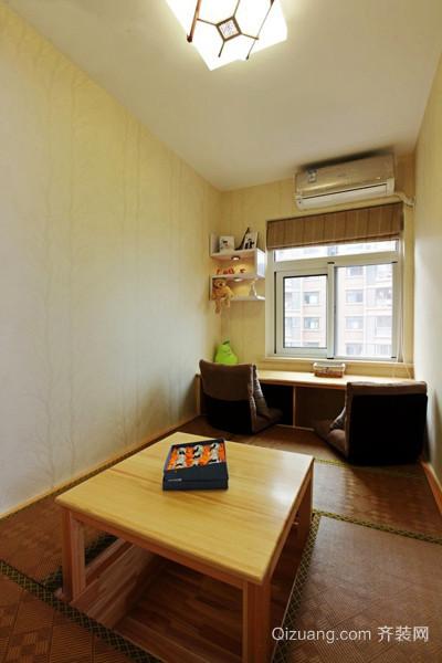 日式复式楼客厅