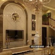 新古典主义欧式客厅设计