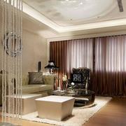 美式现代轻奢系列客厅装修