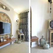欧式古典式客厅背景墙设计