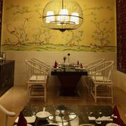 火锅店创意型小餐桌设计
