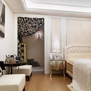 美式经典优雅型卧室设计