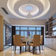 新欧式大户型饭店吊顶设计