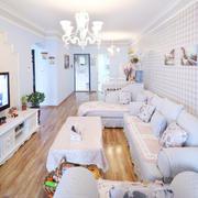 东南亚白色客厅