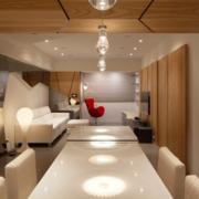 欧式大型客厅吊顶设计