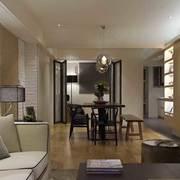 现代化欧式公寓客厅装修设计