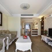 古典优雅式客厅整套沙发设计