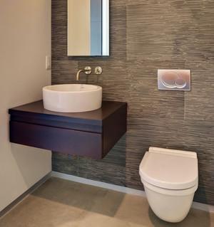 新古典白色卫生间设计