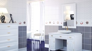 白色简约瓷砖设计效果
