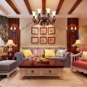 美式沙发效果图