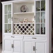 白色典雅型酒柜设计