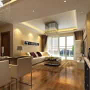 欧式110平米大户型公寓装修
