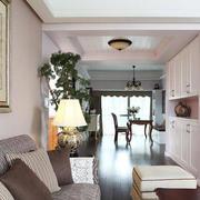 美式典雅小客厅装修效果
