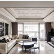 白色精美型客厅设计