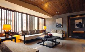 日式精美型客厅装修