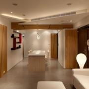 欧式精简系列110平米整体家居设计