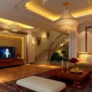 欧式精美型客厅吊顶设计