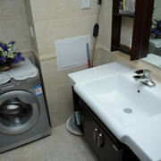卫生间洗手池效果图