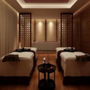 新中式淡雅式美容院