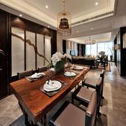 中式典雅型餐厅设计