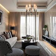 简欧系列欧式棕色沙发设计