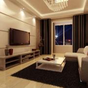 欧式大户型典雅式客厅装修