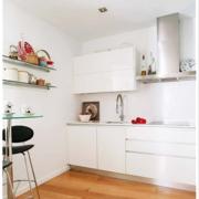 白色小户型厨房简约设计