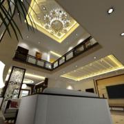 欧式楼中楼客厅设计