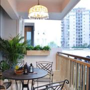 二层复式楼阳台设计