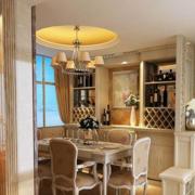 经典法式烂漫型酒柜设计