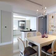 美式典雅型小餐厅设计