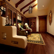 中式客厅吊顶样例图