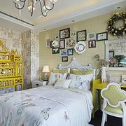 欧式典雅化卧室背景设计