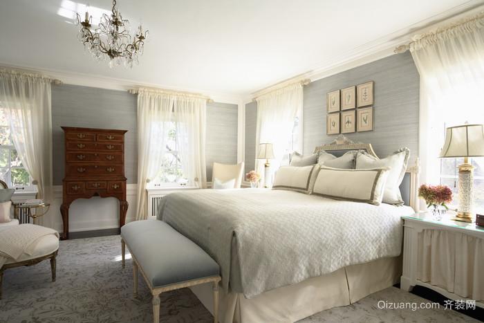 一室一厅现代简欧风格装修效果图