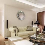 客厅美式沙发设计效果图