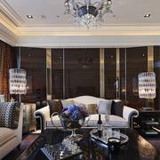 欧式客厅吊灯设计