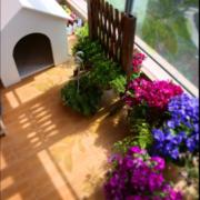 单身公寓阳台飘窗设计