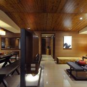 日式大户型简约系列吊顶设计