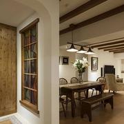 美式客厅隔断设计