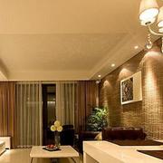 欧式奢华型客厅设计效果图