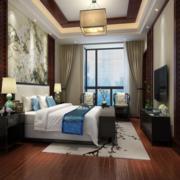 中式儒雅简约型卧室设计