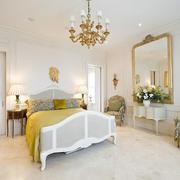 柠檬色之淡雅清新式卧室背景设计