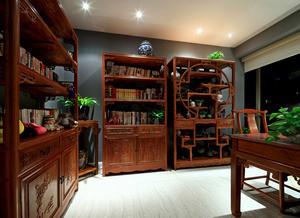 中式典雅复古书房装修图大全