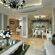 白色典雅式英式家居设计