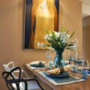 美式餐厅典雅式油画