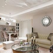 客厅美式大户型风格设计