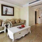 英式精美式客厅沙发设计